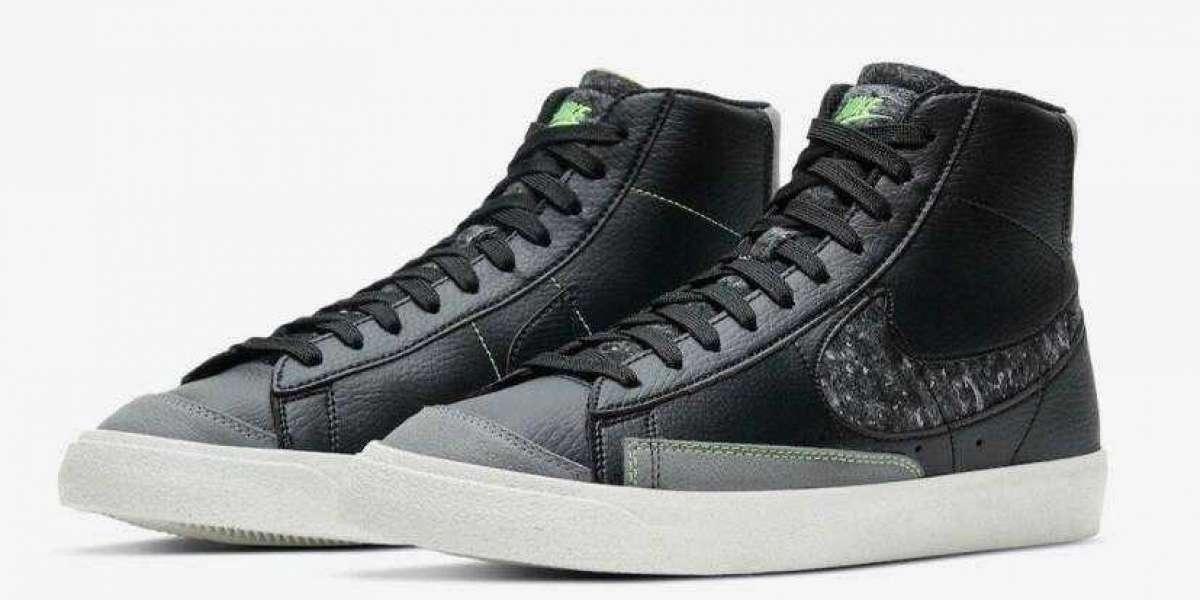 Latest Nike Blazer Mid Release Black and Smoke Grey Colorway