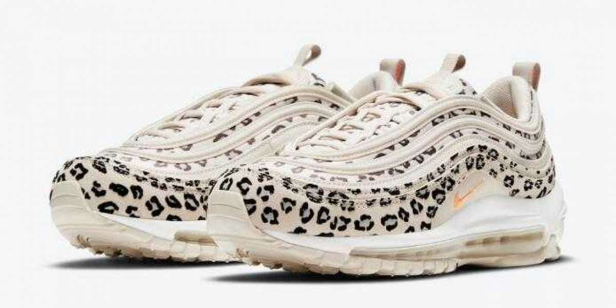 CW5595-001 Nike Air Max 97 Got Covered in Exotic Leopard Print