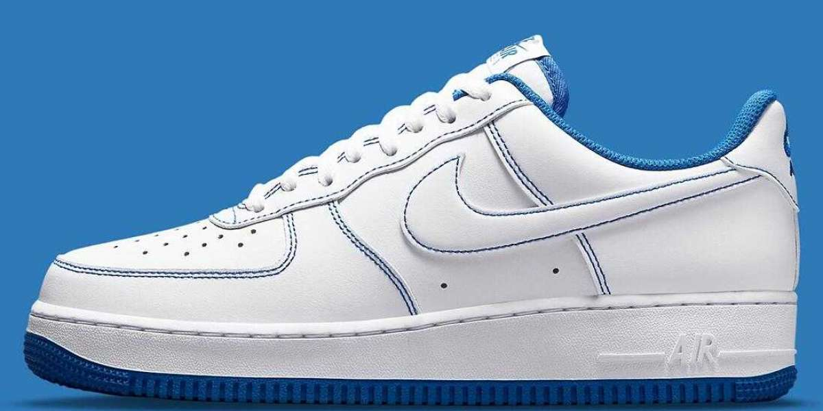 Nike Air Force 1 Low White Game Royal CV1724-101 Coming Now