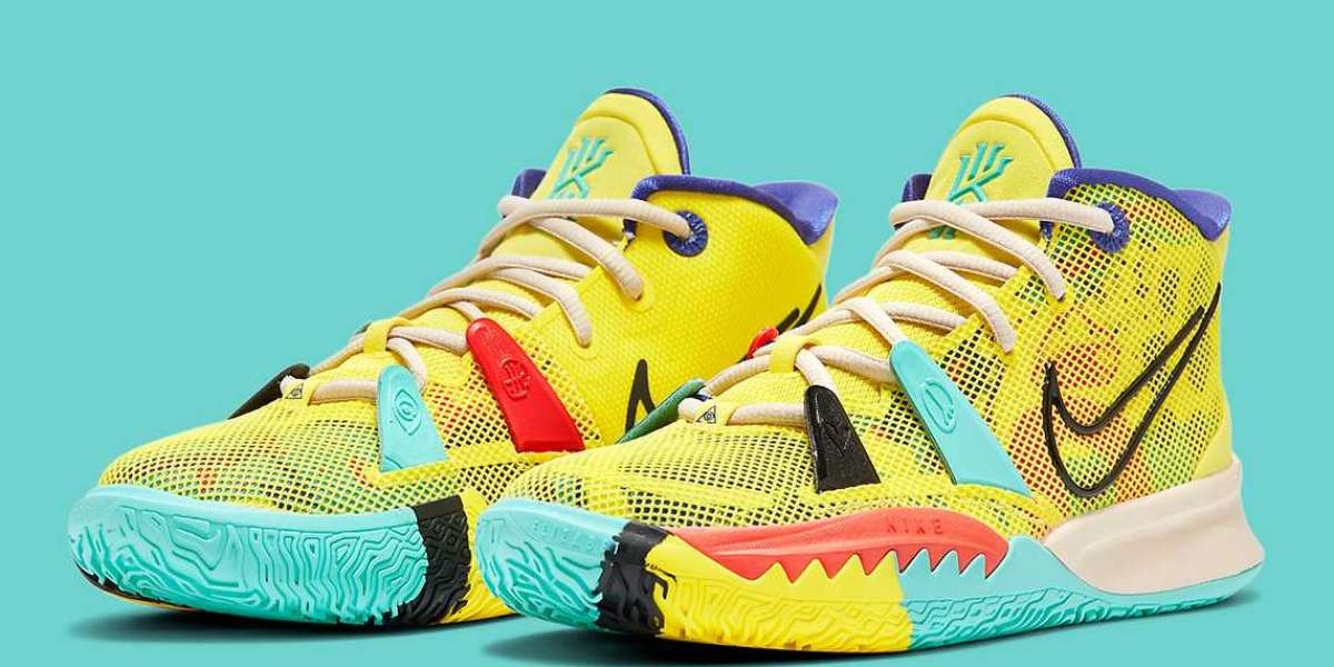 """Nike Kyrie 7 """"1 World 1 People"""" CT4080-700 is coming soon"""