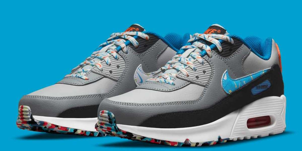 """Nike Air Max 90 """"Multi-Color"""" DM7594-001 will be released soon"""