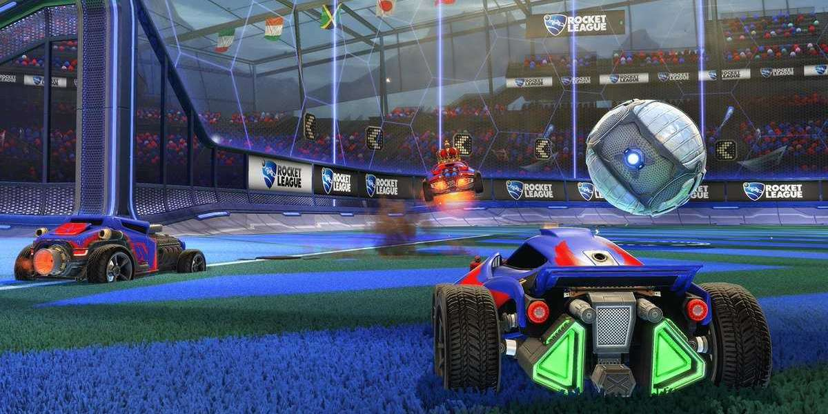 Rocket League the remarkable soccer-with-cars game