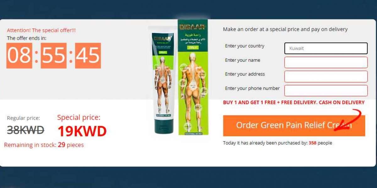 Green Pain Relief Cream: