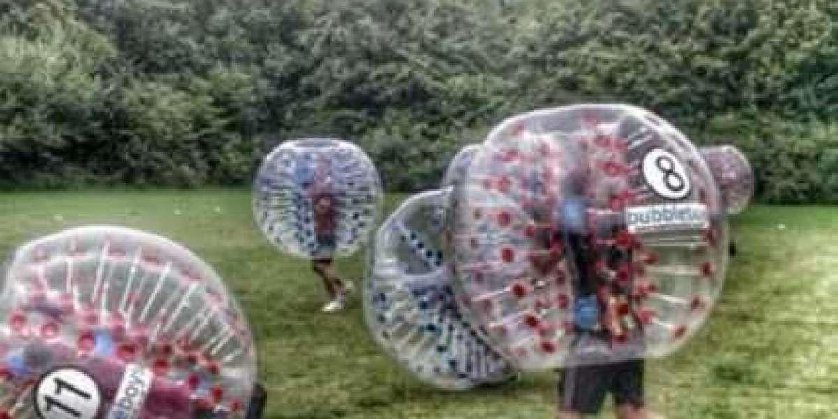 Bubble football Stoke