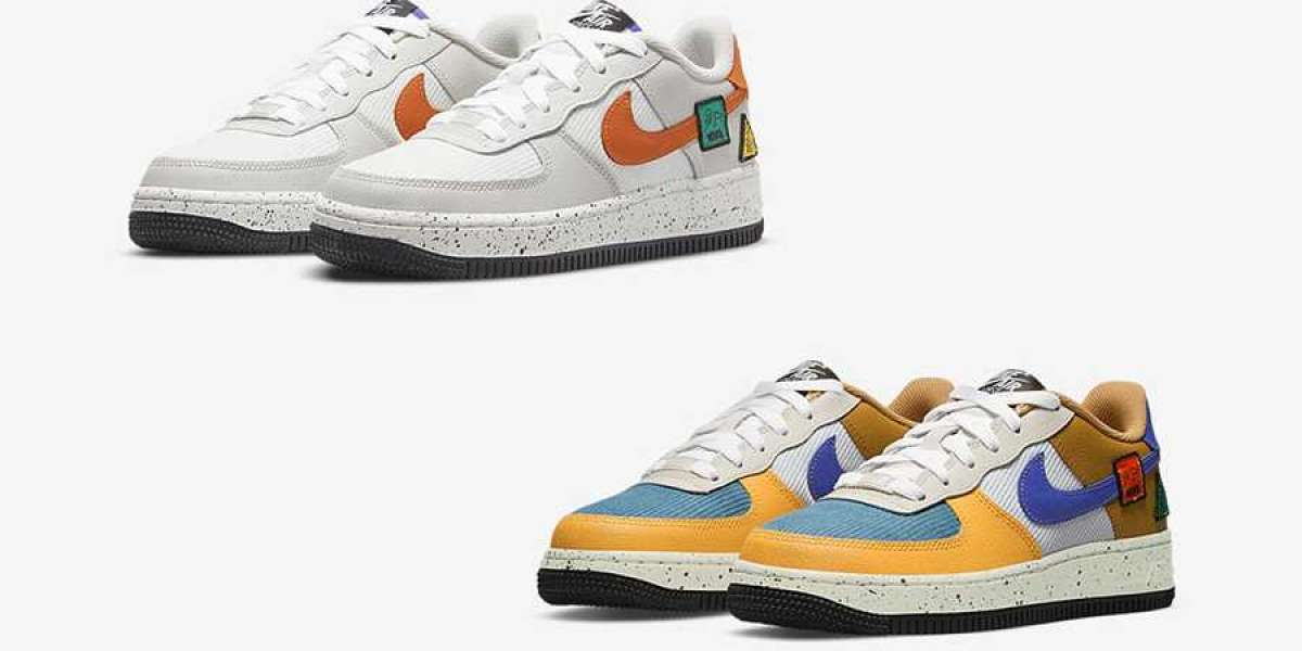 New Nike Air Force 1 GS Light classic ACG dress up Air Force 1 official image exposed!